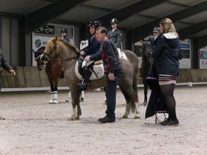 Kampioen AB pony's klasse L/M Pleun van Assouw uit Berkel-Enschot