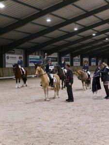 Kampioen AB pony's klasse B Linn Kwantes uit Berkel-Enschot